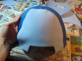 Pauldron in progress