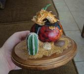 Dragon Hatchling Sculpture - Spiny Desert Drake