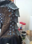 Garrus neck work in progress