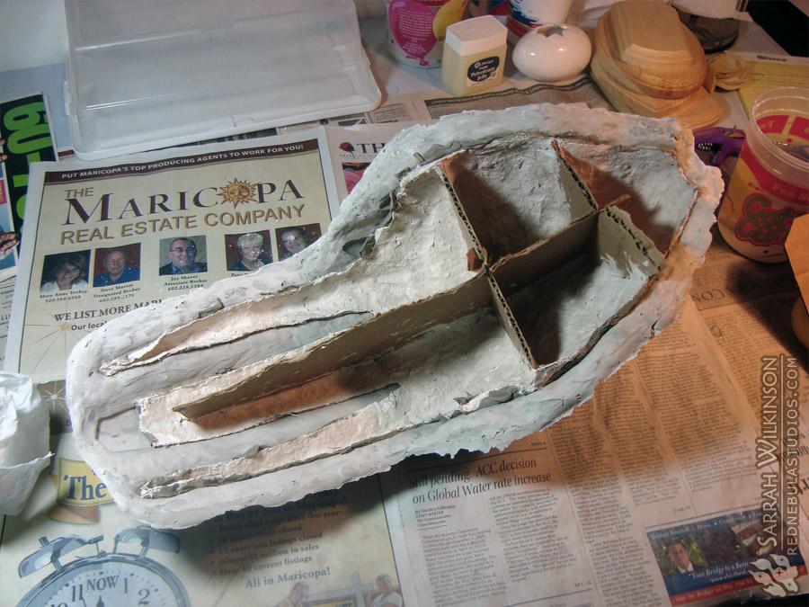 Garrus mask mold - underneath
