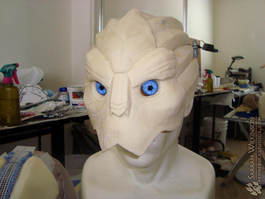 Garrus mask initial cast