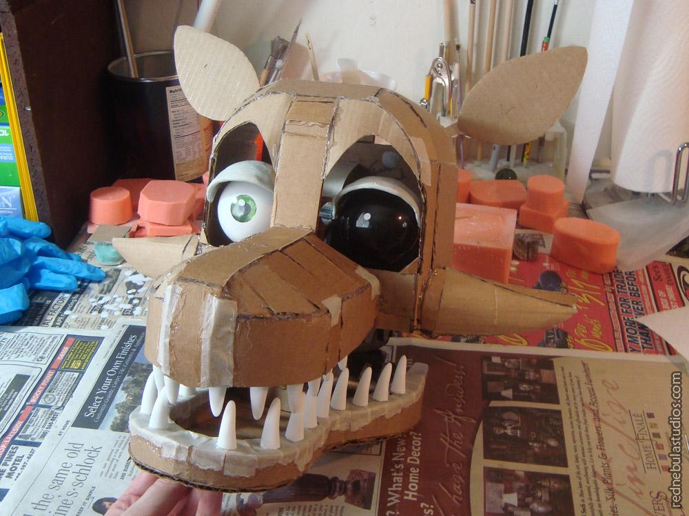 Cardboard Mangle head