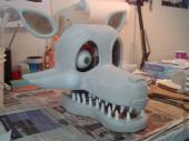 Mangle head pieces coated in Free Form Air epoxy putty