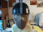 Star-Lord face mask and helm in early progress