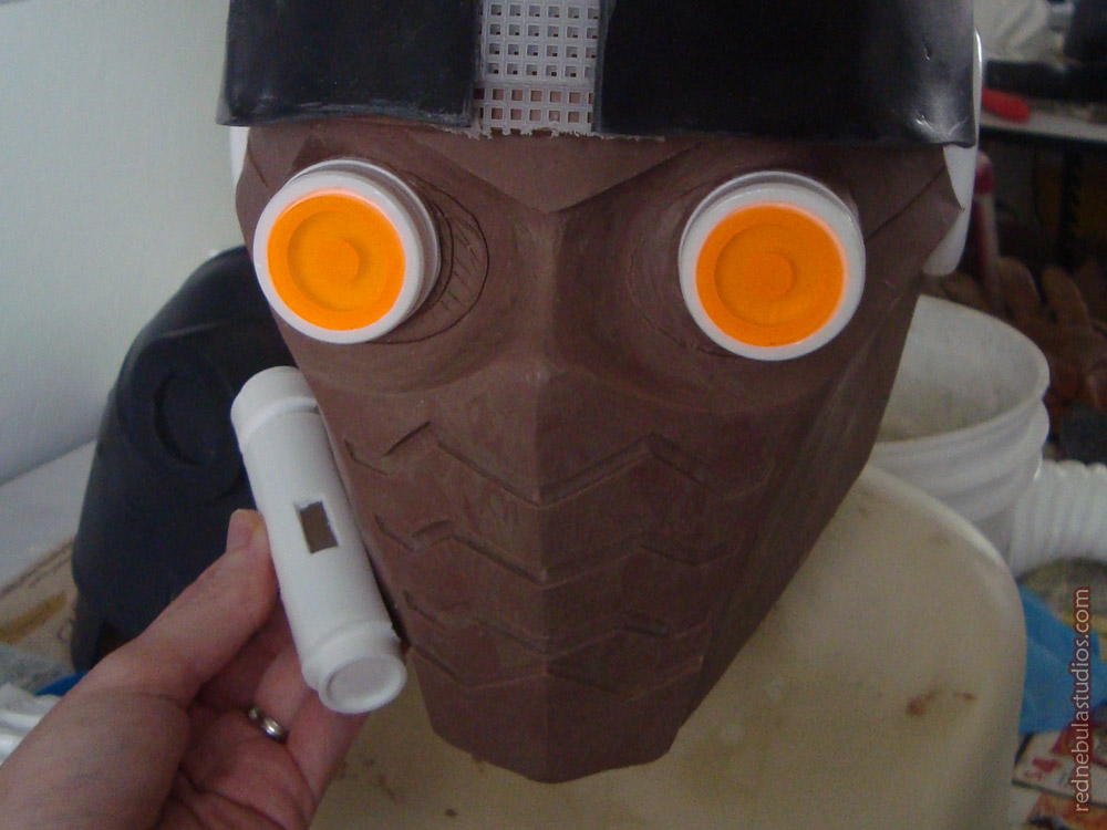 Star-Lord faceplate parts in progress