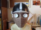 Star-Lord face mask and helm in progress