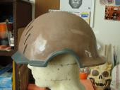 Star-Lord helmet additional sculpting